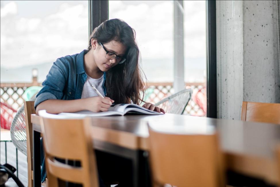 A Student Preparing for TOEFL